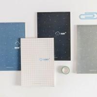 Sky Temperature Plain Notepad B5 / Buku Tulis