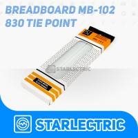 Breadboard 830 Tie Point MB-102 MB 102 Solderless