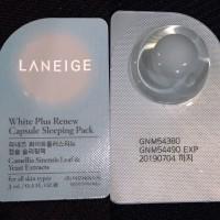 Laniege White Plus Renew Capsule Sleeping Pax (pcs)
