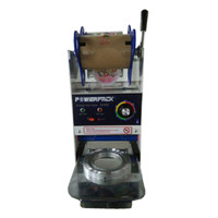 KUALITAS TERBAIK Powerpac Mesin Pengemas Minuman Bubble / Cup Sealer
