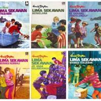 NOVEL TERBARU Ebook Buku Novel Lima Sekawan oleh Enid Blyton Set 24