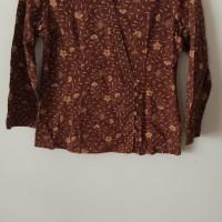 Batik Keris Wanita - Batik Keris - Coklat [Bekas]