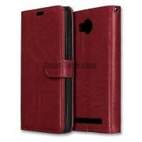 Lenovo K6 Note - A7700 case hp dompet kulit leather FLIP COVER WALLET