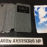Flipcover Oppo F1 Plus R9 5.5 inchi Sarung Buku HP Flip Case N