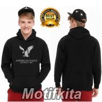 KEREN!!! Jaket AMERICAN EAGLE Hoodie Sweater polos Motifkita 001