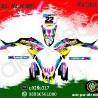 decal KLX BF full body, sticker striping murah (bisa request)