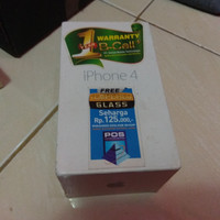 BOX KOTAK KARDUS HP HANDPHONE IPHONE 4/4S ORIGINAL BEKAS