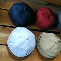 miki hat / peci cap material twill cotton