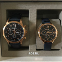 Auth Fossil Couple Watch