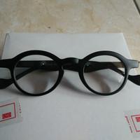 promo kacamata fashion bulat oval kecil kacamata trendy gaya korea hit
