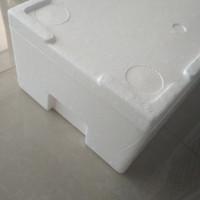 Box Styrofoam Khusus Kiriman Cacing Beku, Ikan Discus