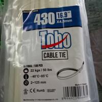 kabel tie/kabel ties/kabel insulok 43cm