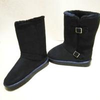sepatu boots cocok untuk winter dalam bulu