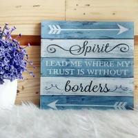 Hiasan Dinding Kamar Lukisan Stiker Vinyl Doff Quotes Spirit Borders
