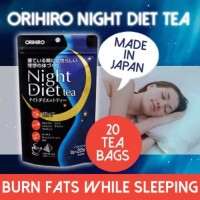 Orihiro Night diet Tea from Japan (hand carry)