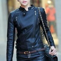 Jaket kulit untuk wanita. Bahan kulit Domba asli Garut