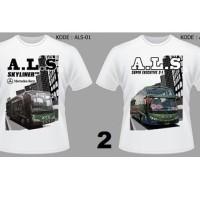 Kaos Bis / Bus ALS Antar Lintas Sumatera