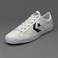 Sepatu Converse Star Player Ox White 155410C