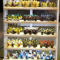 lemari lego minifigures hasbro Funko Pop transformers robot