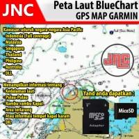 GPS Map Peta Laut Garmin Bluechart 585 580 64s 550 650 750 Etrex 20 30