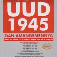 UUD 1945 & AMANDEMENNYA NASKAH RESMI