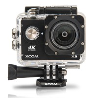 Onix XCOM X3 Action Camera 4K HD 16MP HITAM Carton Box + battery 900 m