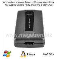 USB 3.0 HDMI Video Capture & Streaming (rekam input HDMI ke komputer)
