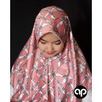 Jilbab Segi empat / Aphijab Marwa / Satin Silk maxmara