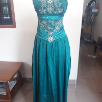 Dress/Gaun Pesta Warna Hijau