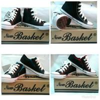 Sepatu sekolah New basket Resleting/SEPATU SEKOLAH ANAK SD,SMP,SMA