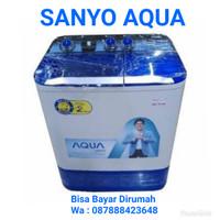 Mesin Cuci Sanyo Aqua 880XT. 8Kg. Hijab Mode