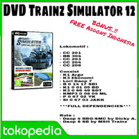DVD Trainz Simulator 2012 + FREE Addons Indonesia