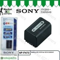(Murah) Battery Sony NP-FH70 for XR520E XR500E DCR-SX40 DCR-SX41