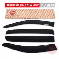 Ford All New Ranger 2012 TALANG AIR / SIDE VISOR SLIM SOLID BLACK M