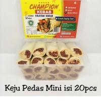 Kebab Frozen HALAL LP-POM MUI NO. 03010017410617 Keju Pedas Mini 20pcs