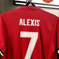 Jersey Manchester United Home 2017/18 ALEXIS SANCHEZ - Grade Ori