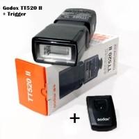 Flash Godox TT520 II + Trigger Wireless Godox Thinklite TT 520 II Flas