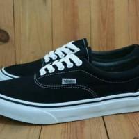 Sepatu Vans Era Original Premium Black White