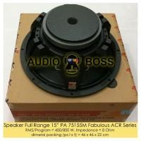 Speaker Full Range 15 inch PA 75155 M 75155M Fabulous ACR 800 Diskon