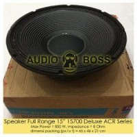 Speaker Full Range 15 inch 15700 Deluxe ACR Series Limited