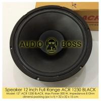 Speaker 12 inch Full Range ACR 1230 BLACK - Speaker ACR 1230 B Limited
