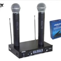 Mic wireless Ashley KTV-2 ( handheld ) Diskon