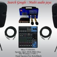 Paket Karaoke YAMAHA Mixer Murah