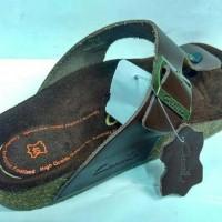 best product Sandal Kulit Pria CARVIL WALTER 01 Dk Brown