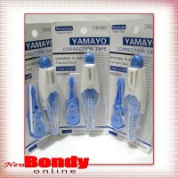 Yamayo Correction Tape 10m + 1 Refill