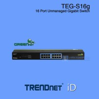 TRENDnet TEG-S16g 16-port Gigabit Unmanaged Switch Resmi Lokal ID