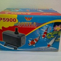 limited water pump pompa celup kolam aquarium Aquila P5900