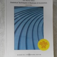 BUKU Statistical Techniques in Business and Economics, 16th Ed by.Lind