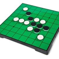 Brick Lego Puzzle Mainan Magnetic Board Othello Set Murah Import