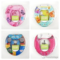 Soft Potty Seat with Handle/ Ring Closet/ Dudukan Toilet